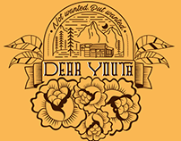 T-Shirt illustration for Canadian band Dear Youth