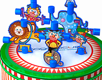 MAGNETIC CIRCUS, children toy for MAGNETICUS