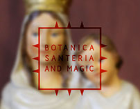 Botanica Santeria and Magic Branding