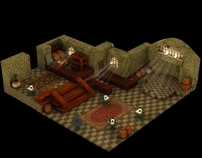 Final Fantasy Tactics game environment