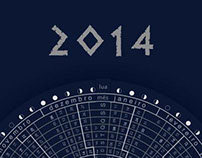 Astrological Calendar - 2014