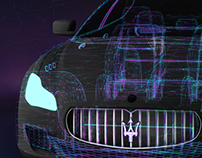 Maserati Projection Mapping