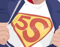 5S Lean Risk Prevention Poster