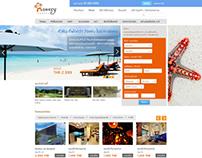 Booking Hotel Website (mock up design)