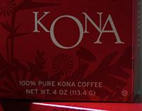Nordstrom KONA Coffee Packaging
