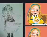 "Character Study ""Alice"""