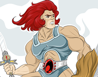 Lion Thundercats vector