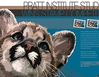 Mountain Lion Cub Stamp