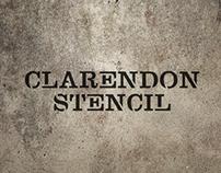 Clarendon Stencil 1.0