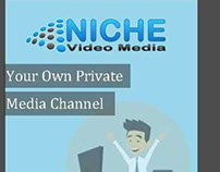 Niche App: Private Media Channel App