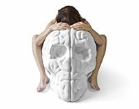 "28"" Skull Brain"