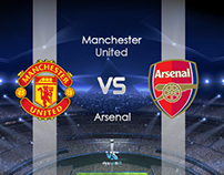 MAN.UTD vs Arsenal /poster/