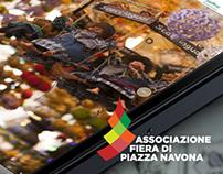 Associazione Fiera Piazza Navona - Website