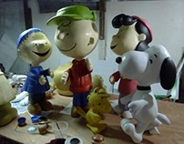 Production of 3d Peanut Characters for SM Mall of ASIA