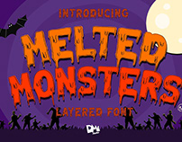 Melted Monster - Halloween Pack - FREE