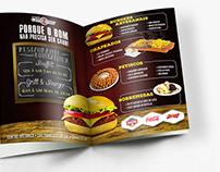 Restaurante Container - materiais gráficos diversos