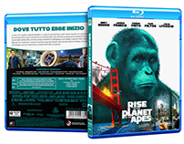 Planet of the Apes BluRay collection