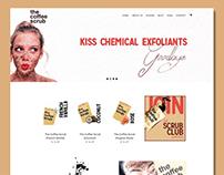 Shopify Store Design The Coffee Scrub