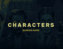 Characters for BUNKER