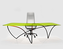 """Ribbon"" desk (concept, 2014)"