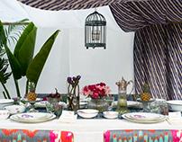 // Dinning Setup / Set Design : Good Earth Ind