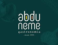Abdu Neme Gastronomia | Identidade Visual