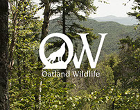 Oatland Wildlife Rebrand & Posters
