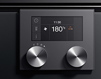 Oven Series UI for B/S/H Brand Gaggenau