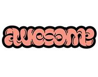 Awesome Ambigram