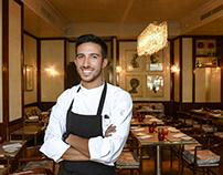 Tommaso Calonaci Chef at Grand Hotel Minerva