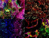 Colored Magma - VJ Loop Pack (4in1)