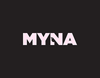Myna - Bird Logo Design