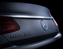 Mercedes-Maybach S600 fine art (FDL technique)