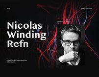 Nicolas Winding Refn Website Concept