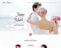 Wedding Invitation - Couple Event Joomla Theme