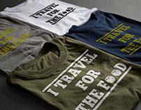 Food Lover T-shirt Design