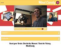 MindCandy: Adobe XD Project