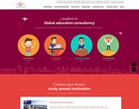 Education Website Design (VDIEC)