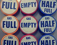 Drum gas marking
