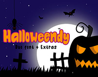 Halloweendy Duo Font