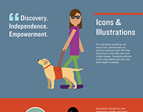 Project Iris Brand Guide and Infographic