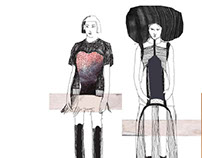 Fashion sketches_ Fall 2015