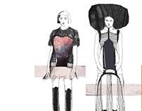 Fashion sketches_ Fall 2015