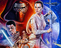 STAR WARS - The Force Awakens - Poster