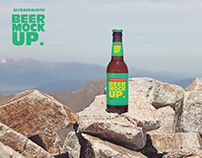 Stone Mountain Beer Mockup