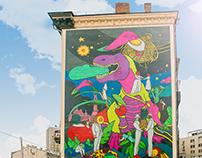 Silpo mural