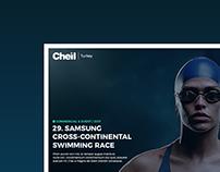 Cheil Turkey | Website Concept