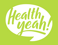 Health Yeah! Logo Design