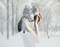 Silhouette hiver