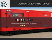 Distributor & Supplier Genset
